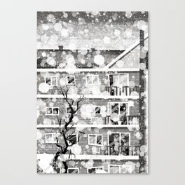 Places I've Lived Series - 7 Canvas Print