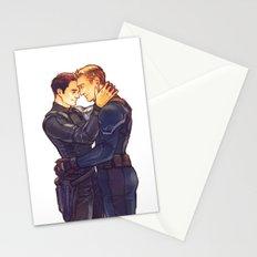 SteveBucky - short hair Bucky Stationery Cards