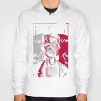 frankenstein Hoodies featuring frankenstein by don motta