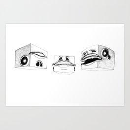 TRIUNE Art Print