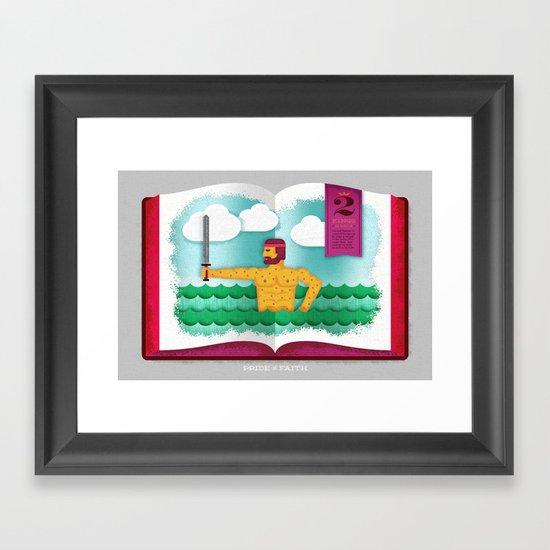 A General's Pride (by Travis Brown) Framed Art Print