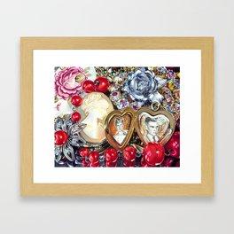 Family Jewels Framed Art Print