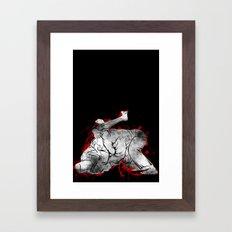 jiu-jitsu Framed Art Print