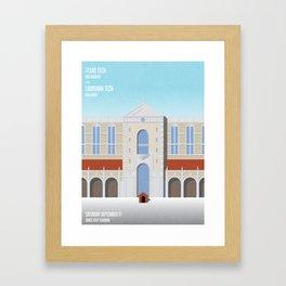 Our House - La Tech vs. TTU 09.17.16 Framed Art Print