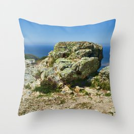 "Conway Mountain, Mynydd y Dref (Welsh : ""Mountain of the Town"")  Throw Pillow"