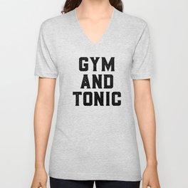 Gym And Tonic Unisex V-Neck