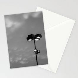 Light up the cotton balls in the sky Stationery Cards