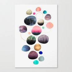 My favorite pebbles Canvas Print