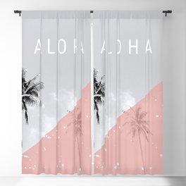 Island vibes - Aloha Blackout Curtain