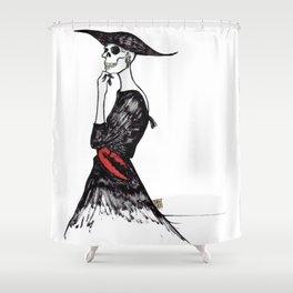 Self Standing Shower Curtain