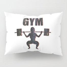 Gym Female Weightlifter Pillow Sham