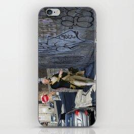 """""""John Gell contemplates Modern Art"""" iPhone Skin"""