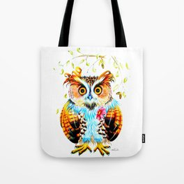 The most beautiful Owl Tote Bag