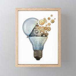 Creative Success Ideas Framed Mini Art Print