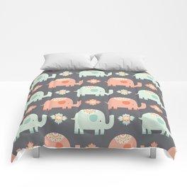 tribal elephant pattern Comforters