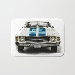 CLASSIC CAR LOVE Bath Mat