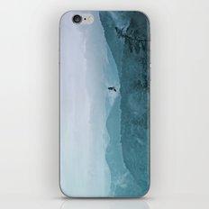 Blue smoky mountains iPhone & iPod Skin