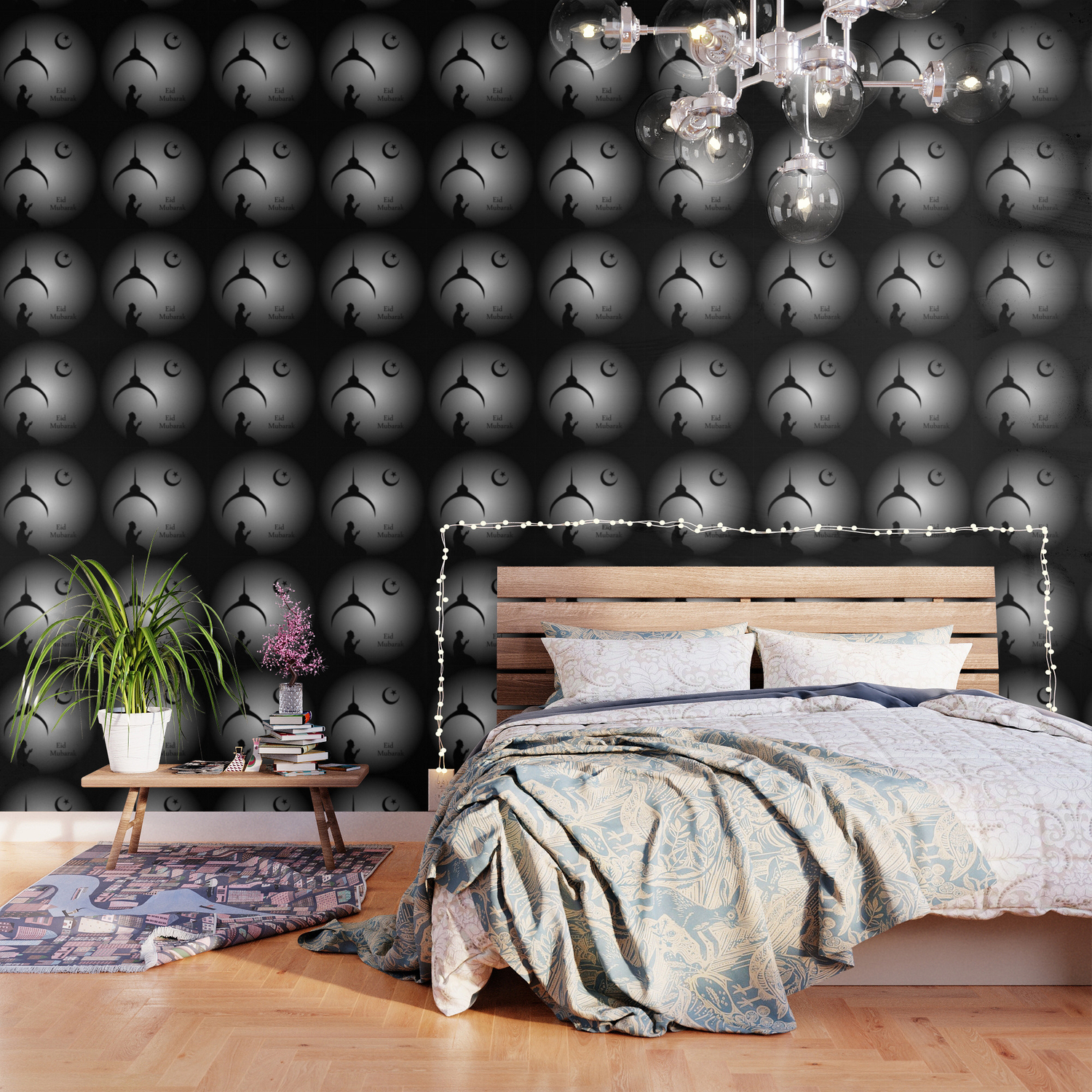 Man Praying Under The Moon Wallpaper By Shawlinmohd Society6