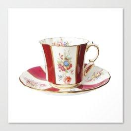 Vintage Tea Cup Canvas Print
