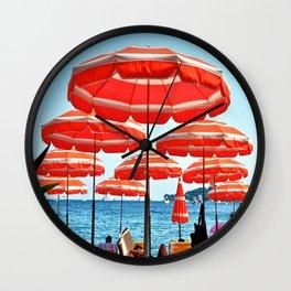 Beach Day! Wall Clock