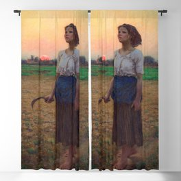 Jules Breton - Song of the Lark Blackout Curtain