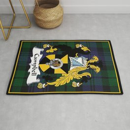 Campbell Clan Scottish Coat Of Arms And Crest Rug