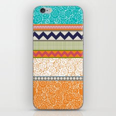 seaview beauty stripe iPhone & iPod Skin