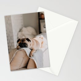 Mans Best Friend is a Dog 13 Stationery Cards