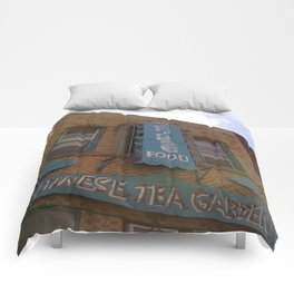 Other Chinese Tea Garden Pic Comforters