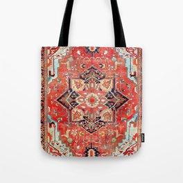 Heriz Azerbaijan Northwest Persian Rug Print Tote Bag