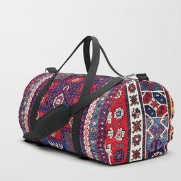 Karakecili Bergama Northwest Anatolian Rug Print Duffle Bag