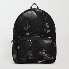 Space Cowboy Pattern Backpack