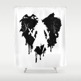 I LOVE Castlevania Shower Curtain