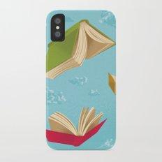 Falling Leaves iPhone X Slim Case