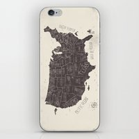 usa iPhone & iPod Skins featuring USA by Mike Koubou
