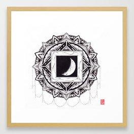 De La Lune Framed Art Print