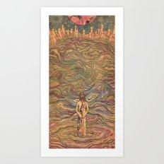 Walking on the Water Art Print