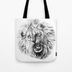 Lion roar G141 Tote Bag