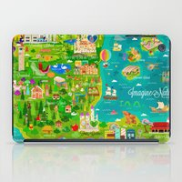 narnia iPad Cases featuring Imagine Nation by Kitkat Pecson