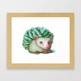 Succulenthog Framed Art Print