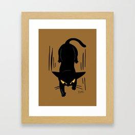 Do not fall Framed Art Print