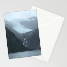 Retreating Glacier Stationery Cards