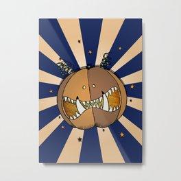 Pumpkin No.3 Metal Print