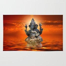 Elephant God Ganesha Rug