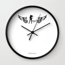 Angel Diabla Wall Clock