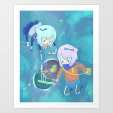 Double Trouble Art Print