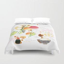 temari sushi Duvet Cover