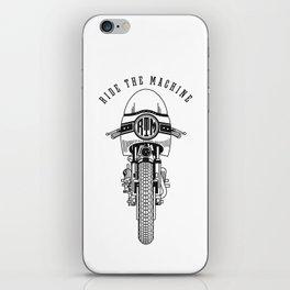 Ride The Machine iPhone Skin