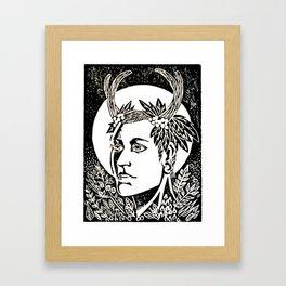 Go Down to Those Shady Groves Framed Art Print