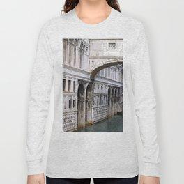 Bridge of Sighs watercolour Long Sleeve T-shirt